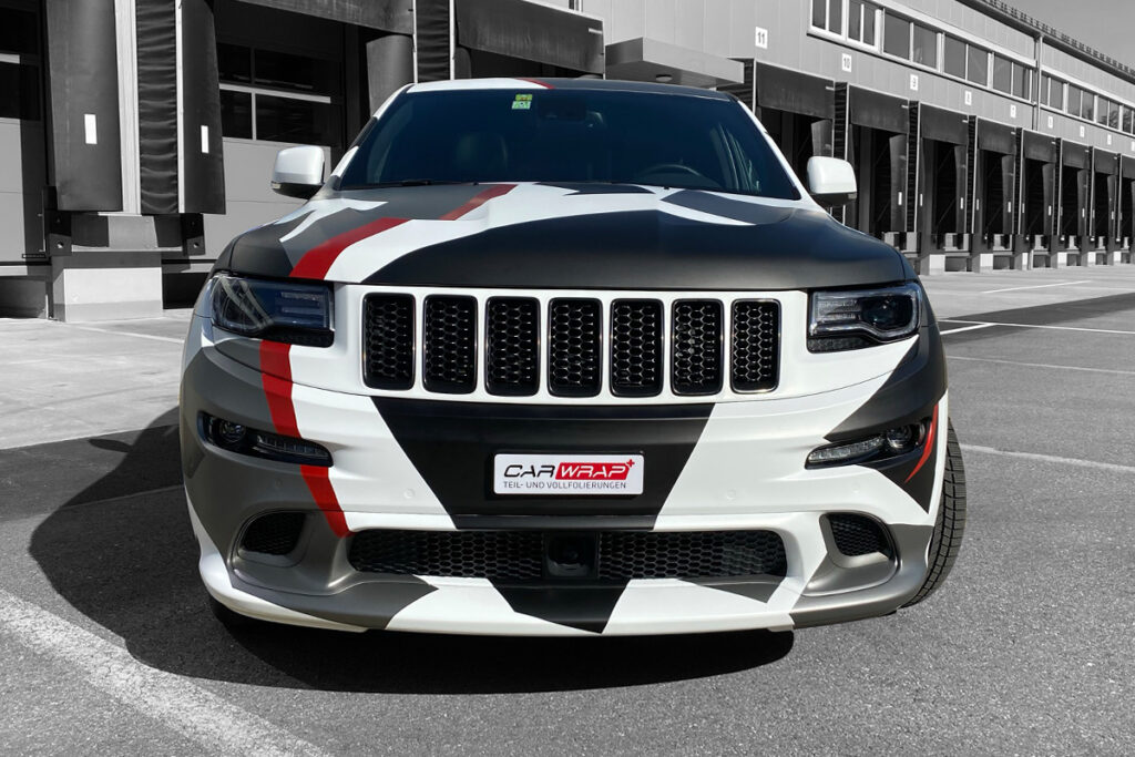car wrapping suv