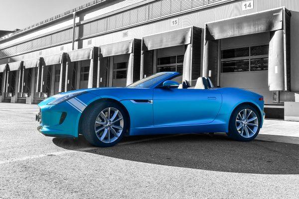 Fahrezugbeschriftung Jaguar
